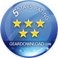 Rated 5 stars on geardownload.com